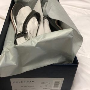 New Cole Haan sandals. Size 5.